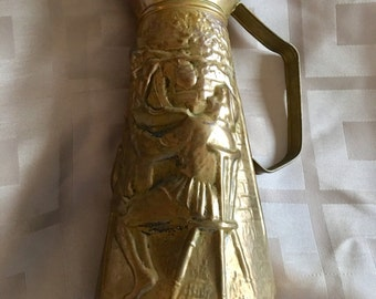 Brass Vintage Pitcher