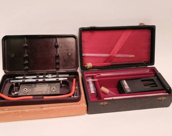 Vintage medical items haemometer haemocytometer