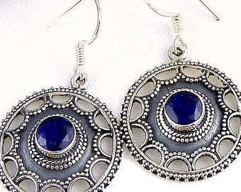 JEWELRY IN SAPPHIRE, Sapphire ears retired, natural stone, av61.3 stone jewelry earrings