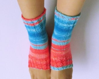 Hand Knitted, Pedi Socks/SPA Socks for Women. Regia Virgin Wool. Size -M.