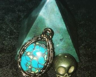 Turquoise elegance pendant