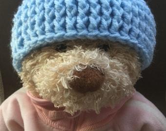 Infant/Baby Crocheted Benie Hat