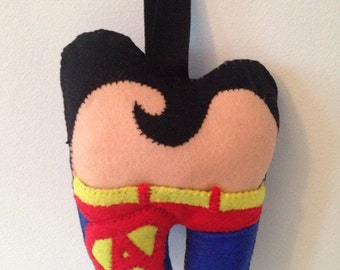 Toothfairy cushion / pillow 'Superman'