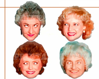Unique The Beautiful Women Printable Masks, costumes, comedian, stars TV show, party mask, birthday, photo booth props, celebrity, Halloween