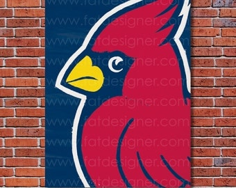 St. Louis Cardinals Graffiti- Art Print - Perfect for Mancave