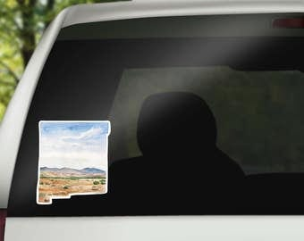 New Mexico Vinyl Sticker - New Mexico State Decal - NM Car Decal - NM Vinyl Sticker - Home State Decal - Home Sticker - New Mexico