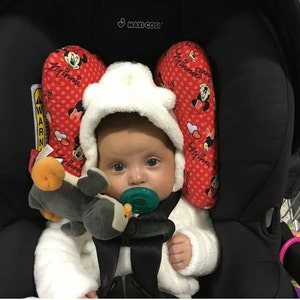 Minnie Mouse Infant Head Support Torticollis Positional