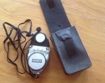 Vintage Robin Professional light metre