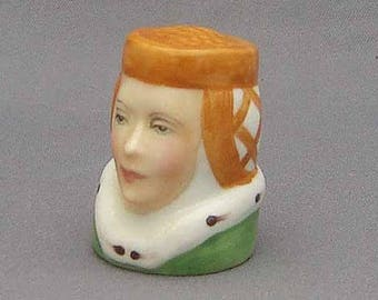 Francesca Character Head Thimble - Juliet