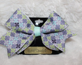 z Purple Hair Bow
