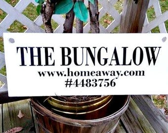 Bungalow Sign, Porch Sign, Hanging Sign, Outdoor Sign, Wood Sign, Outside Home Decor, Porch Decor, Advertising, Business Sign, Shop Sign,
