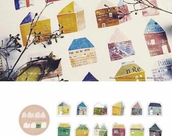 Chamil Garden Masking Roll Sticker/ Sweet House