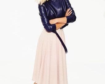 Blush Skirt, Womens Maxi Skirt, Pastel Skirt, Blush Wedding Skirt, Plus Size Maxi Skirt, High Waisted Skirt, Wide Skirt, Oversized Skirt