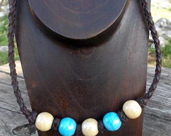 Leather necklace, leather necklace woman, leather necklace, leather necklace, girl necklace, boy necklace, color necklace,