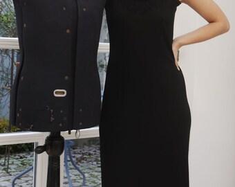 40s dress, petticoat
