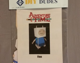 DIY Dude: Finn from Adventure Time, Paper Crafts