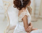 Crystal hairpiece Rhinestone headpiece Wedding hair accessories Bridal hair piece Wedding headband Bridal Hair Jewelry Bridal Headband Vine