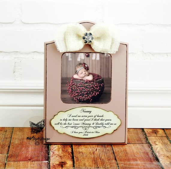 Nanny Gift Babysitter Gift For Nanny By OldStyleDesignFrames