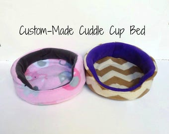Create Your Own Cuddle Cup with Removable Pad- For Guinea Pigs, Hedgehogs, Rabbits, Rats, and more!