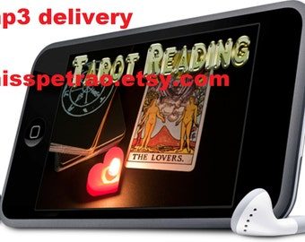 Private Reading Psychic Tarot with Timing Information, MP3 delivery