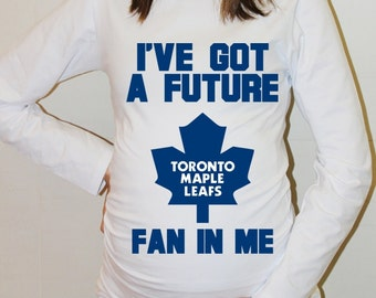 Toronto Maple Leafs Shirt Toronto Maple Leafs Baby Long Sleeve Hockey Boy Baby Girl Maternity Shirt Pregnancy