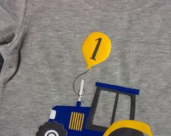 Tractor Birthday Shirt