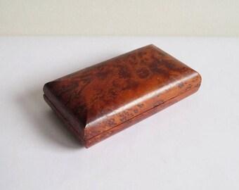 Wooden Box Jewelry Box Decor Box Wooden Container