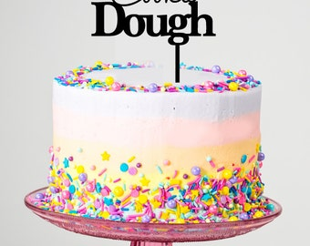 Cookie Dough Cake Topper