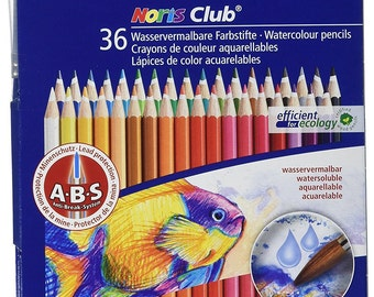 Staedtler Watercolor Pencils, Box of 36 Colors