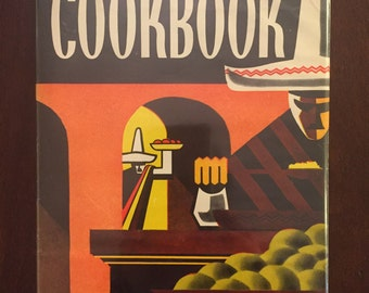 Spanish-Mexican Cookbook, 1940s vintage cookbook