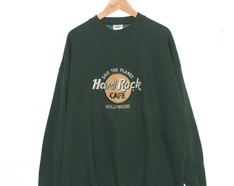 Vintage Hard Rock Cafe Hollywood Sweatshirt