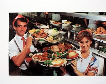 Frankenmuth Bavarian Inn / Restaurant postcard / Michigan postcard  / Bavarian German Food