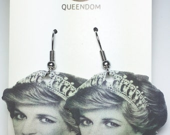 Princess Diana Earrings, Princess Diana Jewelry, Celebrity Jewelry