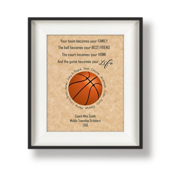 Basketball Coach Gift Gifts for Coaches Basketball Coach