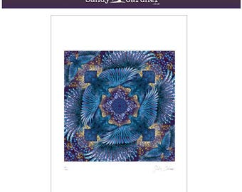 Raven Roulette, Raven, print of square raven scarf shawl