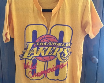 2000 Los Angeles Lakers World Championship Tee