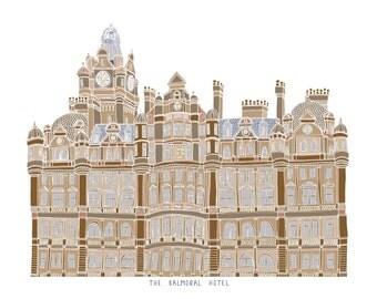 Balmoral Hotel Edinburgh Print