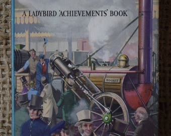 The Story of the Railways. A Vintage Ladybird Book. Series 601. First Edition. Dust Jacket