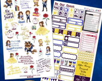 Be our Guest  Planner Stickers