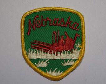 Vintage Nebraska Patch