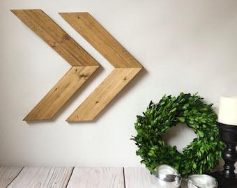 Chevron Arrows - Wood Arrows - Rustic Arrows - Rustic Home Decor - Rustic Nursery Decor - Woodland Nursery - Arrow Decor - Arrow Sign
