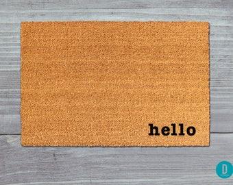 hello doormat hello door mat hello welcome mat hello hi doormat