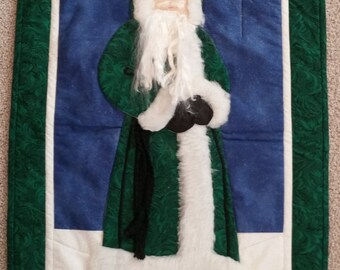 St. Nick's Walk Wall Hanging