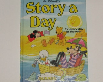 Walt Disney's Story a Day For Every Day of The Year-Summer 1978