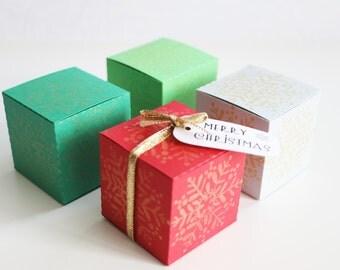 Christmas Gift Box, Christmas Table Decor, Snowflake Gift Boxes, Table Scaters, Christmas Tree Ornaments, Mini Box