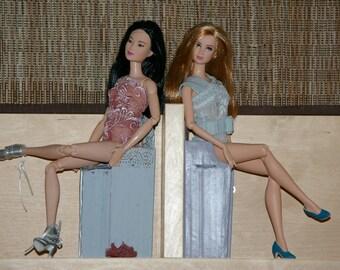 lovely bodysuit for Barbie - handmade - lace