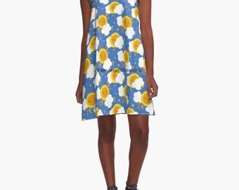 Celestial Kawaii A-Line Dress, 6 Sizes Available!