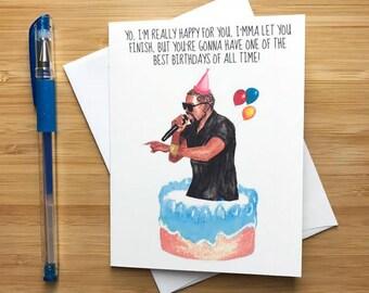 Kanye West Birthday Card, Kanye West Gift, Kanye Kim Kardashian, Kanye Taylor Swift, Kanye West Art Quotes, Kim K, Rap Hip Hop Gifts, Yeezy