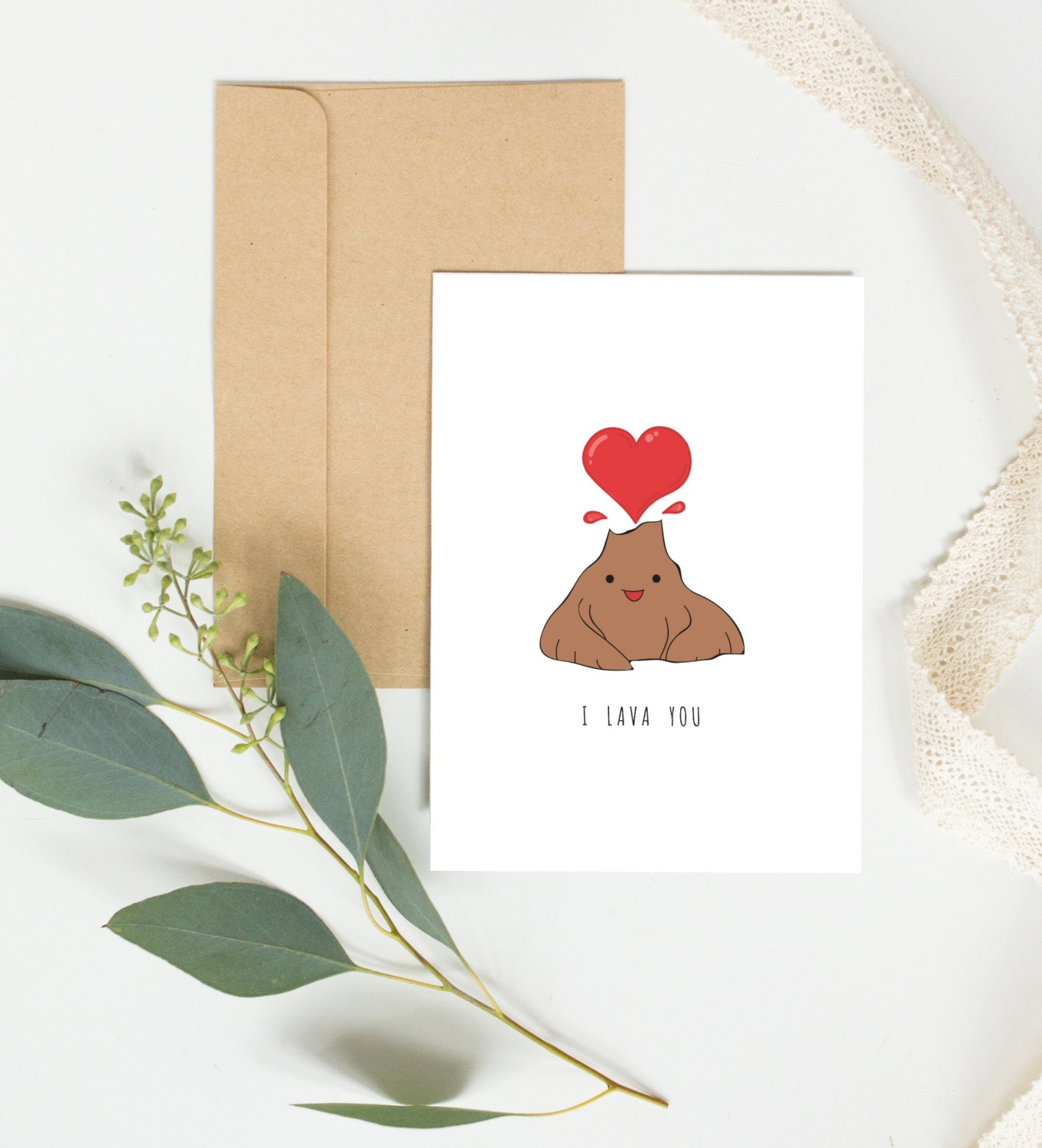 I lava you mothers day card anniversary cute birthday card