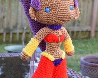 Shantae the Half-Genie Amirugumi Doll